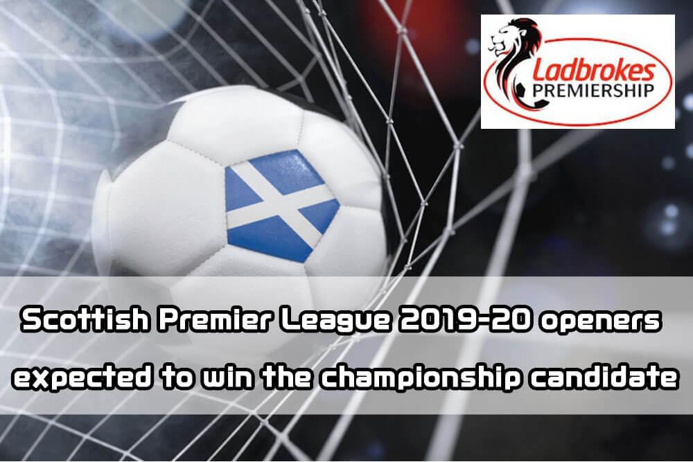 1xbit × football] Scottish Premier League 2019-20 openers