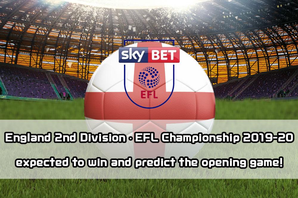 1xbit】 England 2nd Division · EFL Championship 2019-20
