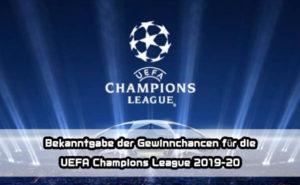 Uefa Champions League Prediction